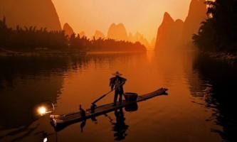 На риболовлю разом з бакланом