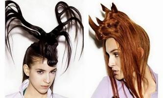 Незвичайні зачіски у вигляді тварин від нагі нода