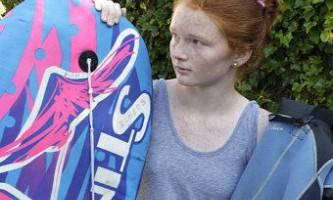 Новозеландська дівчинка відбилася від акули дошкою для бодібордінга
