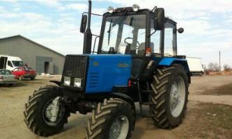 Область застосування і технічні особливості трактора білорус моделі мтз-892