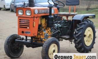 Опис китайських міні-тракторів xingtai моделі 120