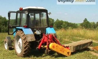 Огляд роторних косарок для тракторів мтз