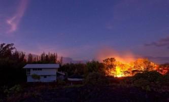Вогняна річка вулкана кілауеа
