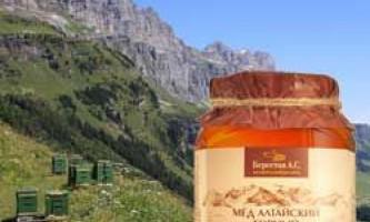 Опис, корисні властивості гірського меду і протипоказання при вживанні
