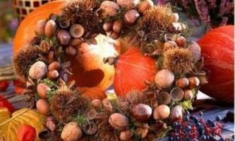 Осінні вироби з дарів природи