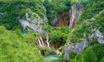 Парк плітвіцькі озера в хорватії
