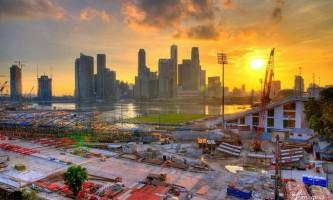 Плавучий стадіон в сінгапурі