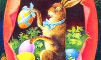 Чому заєць - персонаж католицької паски?