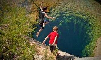 Підводна печера колодязь якова в техасі