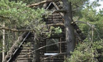Проект сучасного будинку з водоростей (the modern seaweed house)