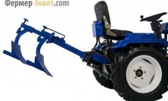 Різновиди плугів для міні-тракторів, рекомендації по їх настройці