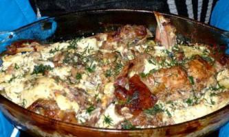 Рецепт приготування кролика в сметані