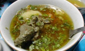 Рецепт шурпа з баранини