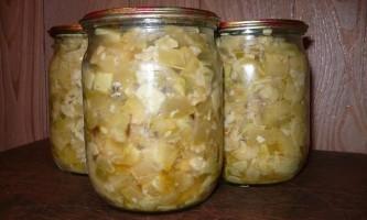 Рецепти кабачків на зиму
