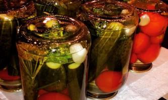 Рецепти огірків на зиму