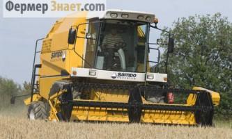 Sampo-rosenlew: потужні і продуктивні зернозбиральні комбайни