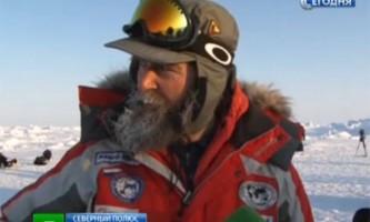 Собаки врятували проваленого в ополонку полярного дослідника федора конюхова