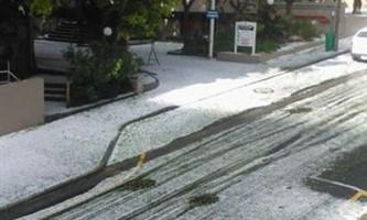 Снігопад в кейптауні