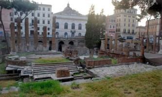 Сотні кішок облюбували руїни, де був убитий цезар