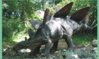 Стегозавр / stegosaur
