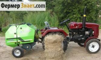 Чи варто купувати прес-підбирач для міні-трактора?