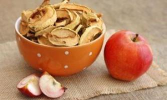 Сушка яблук в домашніх умовах