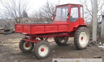 Трактор т-16: простота і надійність