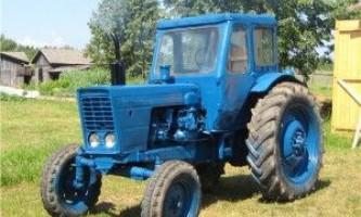 Трактори мтз-50 і мтз-52