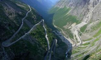 Trollstigen road - найнебезпечніша дорога в норвегії