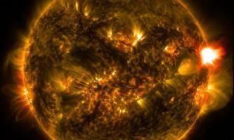 Вчені: супервспишка на сонці здатна знищити все живе на землі