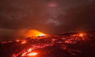 Унікальне відео виверження гавайського вулкана