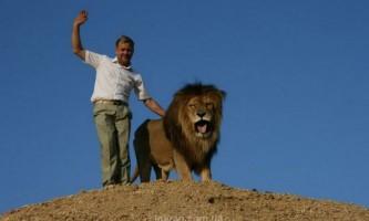 Унікальний парк левів у криму