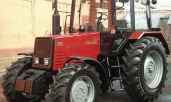 Універсальний просапної трактор мтз 952: основні характеристики