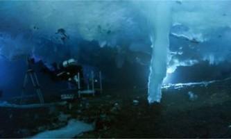 В антарктиці зняли фільм про `` крижаному пальці смерті ``