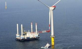 У балтійському морі запустили гігантську вітряну електростанцію