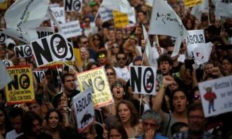У мадриді пройшов багатотисячний мітинг проти кориди