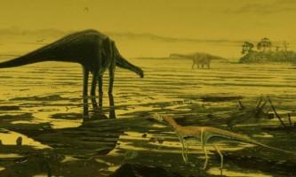 У шотландії виявлені сліди древніх динозаврів
