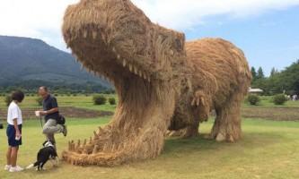 Вара - фестиваль солом`яних скульптур японських фермерів