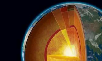 Внутрішнє ядро землі складається з двох шарів