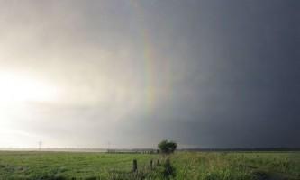 Вперше в історії вдалося сфотографувати чотири кольорові смуги веселки