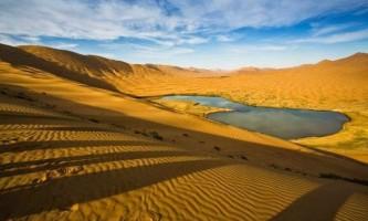 Загадкові озера пустелі бадин джаран
