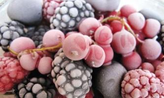 Замороження ягід і фруктів