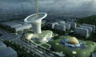 Зелене будівництво: вежа-квітка