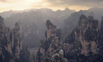 Жовті гори в провінції аньхой